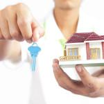 presenting house keys